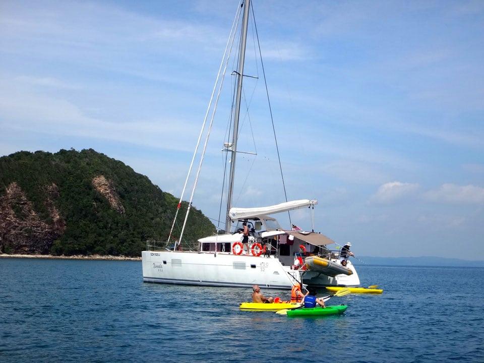 Ximula yacht rental in Singapore