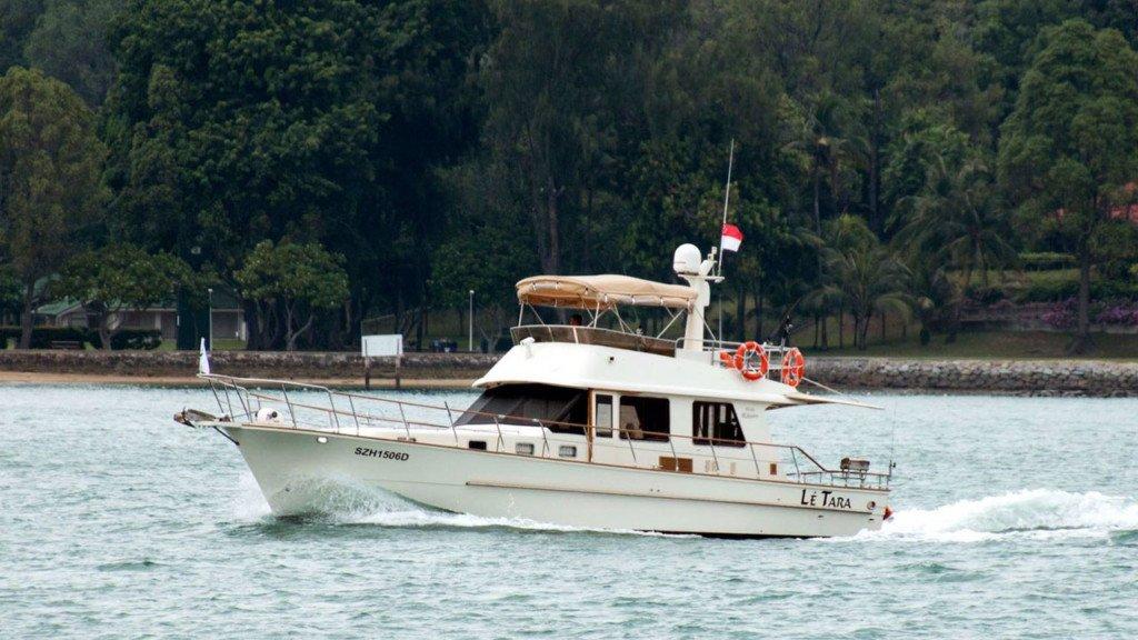Le Tara yacht